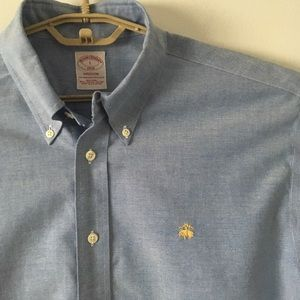 Brooks Brothers L Oxford Button Down Shirt